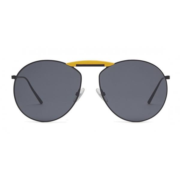 Fendi - Gentle Monster - Occhiali da Sole Rotondi - Neri - Occhiali da Sole - Fendi Eyewear