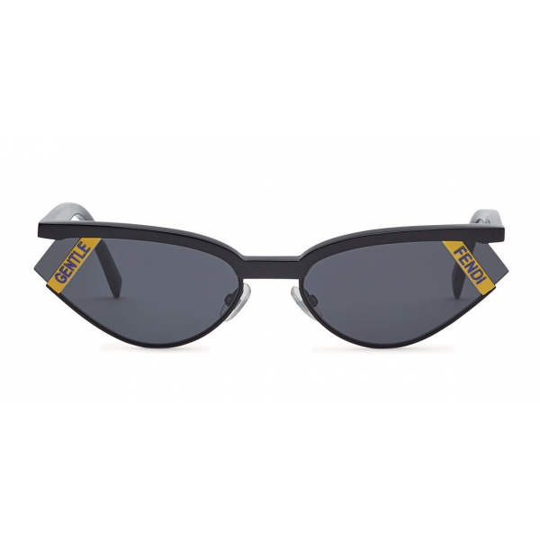 Fendi - Gentle Monster No. 01 - Cat Eye Sunglasses - Black - Sunglasses - Fendi Eyewear