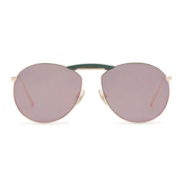 Fendi - Gentle Monster - Round Sunglasses - Copper - Sunglasses - Fendi Eyewear