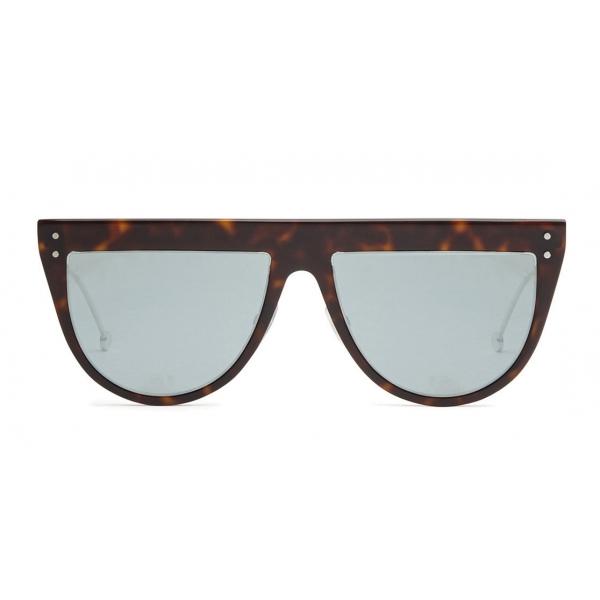 Fendi - DeFender - Occhiali da Sole Aviator - Havana - Occhiali da Sole - Fendi Eyewear