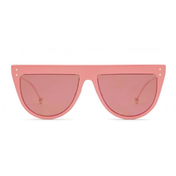 Fendi - DeFender - Aviator Sunglasses - Pink - Sunglasses - Fendi Eyewear