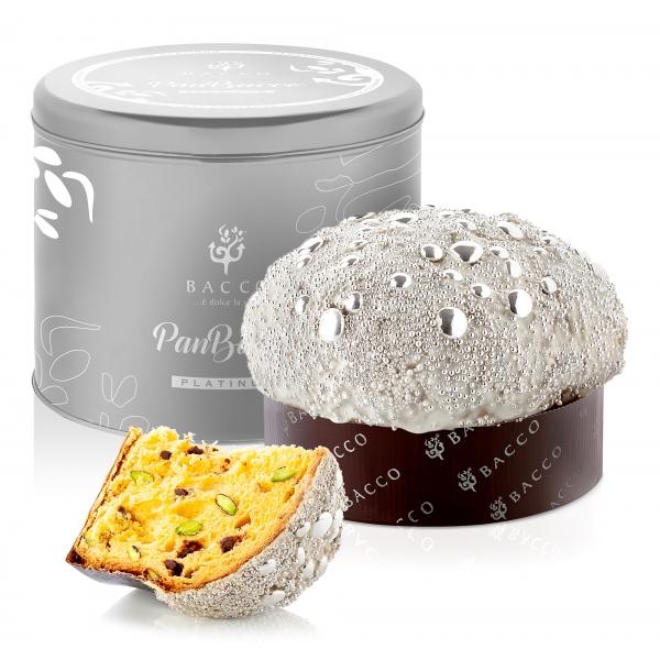 Bacco - Tipicità al Pistacchio - PanBacco Platinum - Edizione Limitata - Panettone Artigianale - 1000 g