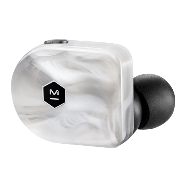Master & Dynamic - MW07 - White Marble Acetate - High Quality True Wireless Earphones