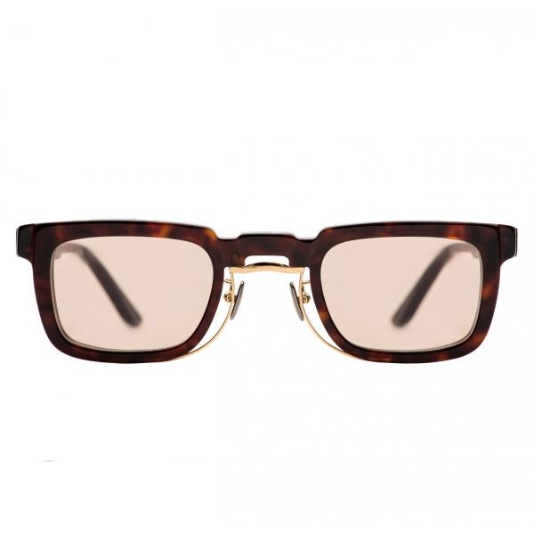 Kuboraum - Mask N8 - Tartaruga - N8 TG - Occhiali da Sole - Kuboraum Eyewear