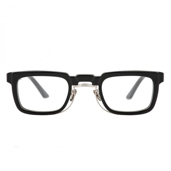Kuboraum - Mask N8 - Nero Lucido - N8 BS - Occhiali da Vista - Kuboraum Eyewear