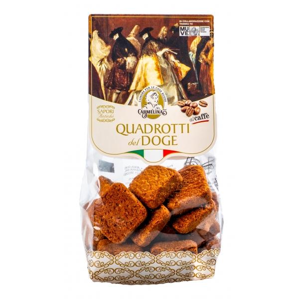 Biscotteria Veneziana - Carmelina Palmisano - Quadrotti del Doge - Coffee - Venetian Artisan Biscuits