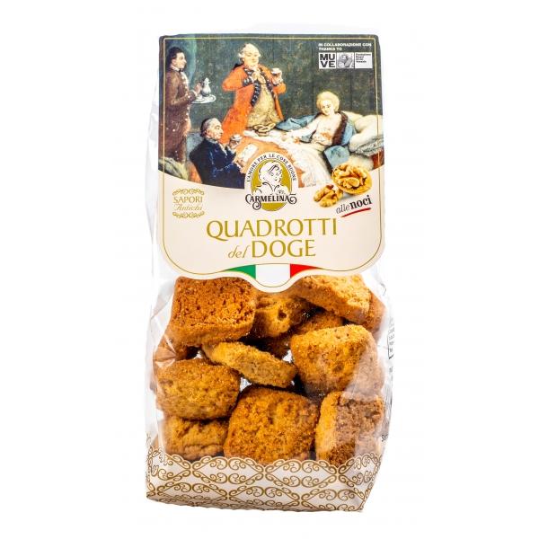 Biscotteria Veneziana - Carmelina Palmisano - Quadrotti del Doge - Noci - Biscotti Artigianali Veneziani