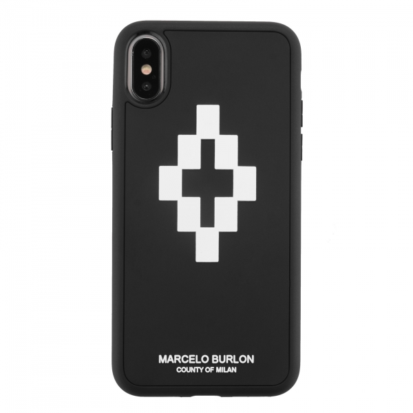 Marcelo Burlon - Cover 3D Cross - iPhone XS Max - Apple - County of Milan - Cover Stampata