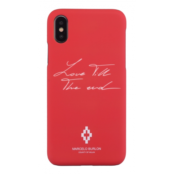 Marcelo Burlon - Love Cover - iPhone X / XS - Apple - County of Milan - Printed Case