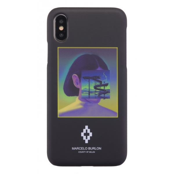Marcelo Burlon - Cover Pool Dexter - iPhone X / XS - Apple - County of Milan - Cover Stampata