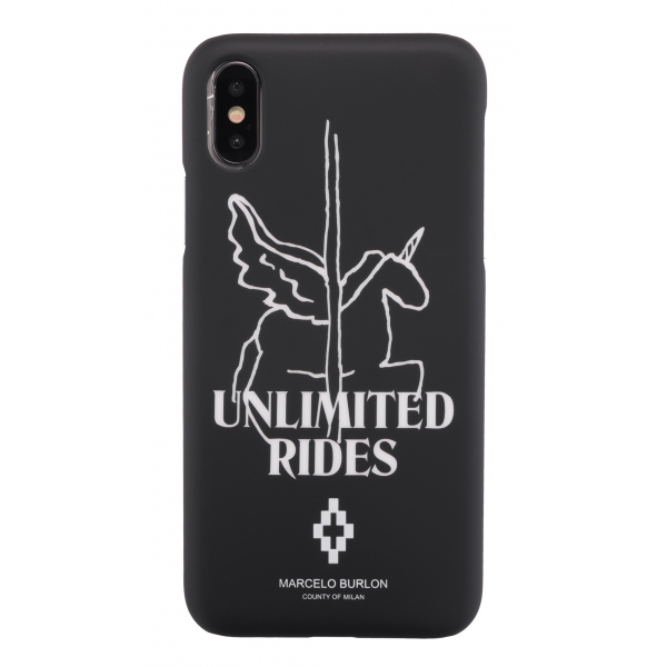 Marcelo Burlon - Cover Unlimited Rides - iPhone X / XS - Apple - County of Milan - Cover Stampata