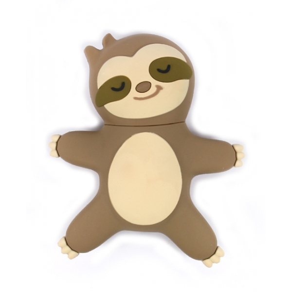 Moji Power - Lazy Sloth - High Capacity Portable Power Bank Emoji Icon USB Charger - Portable Batteries - 2600 mAh