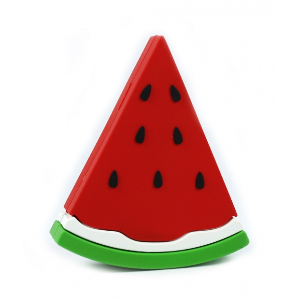 Moji Power - Watermelon - High Capacity Portable Power Bank Emoji Icon USB Charger - Portable Batteries - 2600 mAh