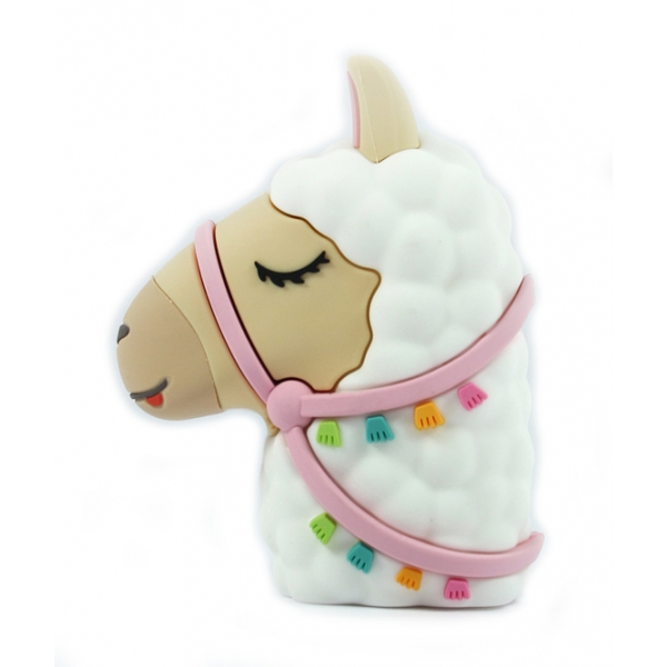 Moji Power - Alpaca - High Capacity Portable Power Bank Emoji Icon USB Charger - Portable Batteries - 2600 mAh
