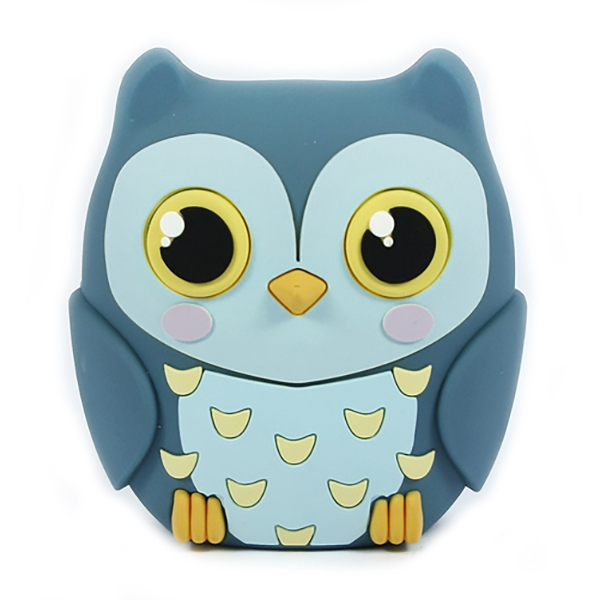 Moji Power - Baby Gufo - Carica Batteria Portatile Alta Capacità Emoji USB - Batterie Portatili - 2600 mAh