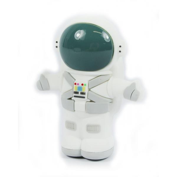 Moji Power - Space Boy - Carica Batteria Portatile Alta Capacità Emoji USB - Batterie Portatili - 2600 mAh