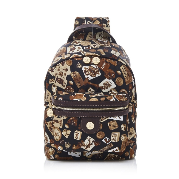 Divo Diva - Melbourne - Dark Brown - Leather Backpack - Made in Italy - Life is a Game Collection - Luxury High Quality