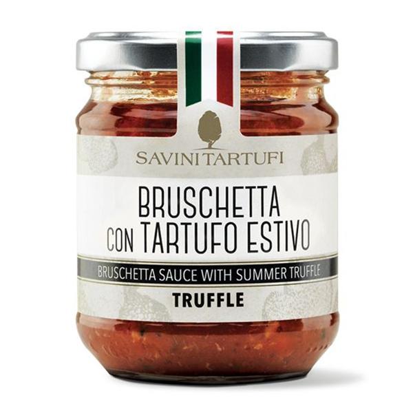 Savini Tartufi - Bruschetta al Tartufo Estivo - Linea Tricolore - Eccellenze al Tartufo - 180 g