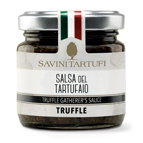 Savini Tartufi - Salsa del Tartufaio - Linea Tricolore - Eccellenze al Tartufo - 180 g
