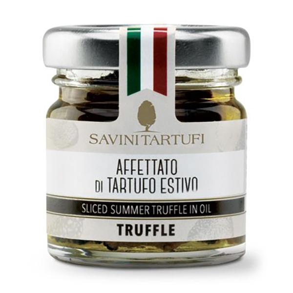 Savini Tartufi - Affettato di Tartufo Estivo - Linea Tricolore - Eccellenze al Tartufo - 30 g