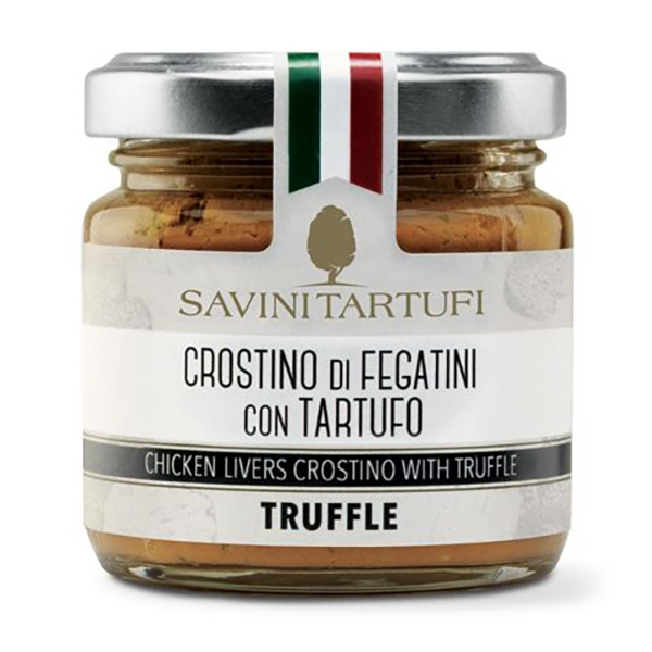 Savini Tartufi - Chicken Liver with Truffle - Tricolor Line - Truffle Excellence - 90 g