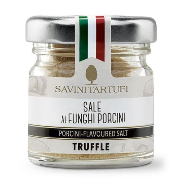 Savini Tartufi - Sale ai Funghi Porcini - Linea Tricolore - Eccellenze al Tartufo - 100 g