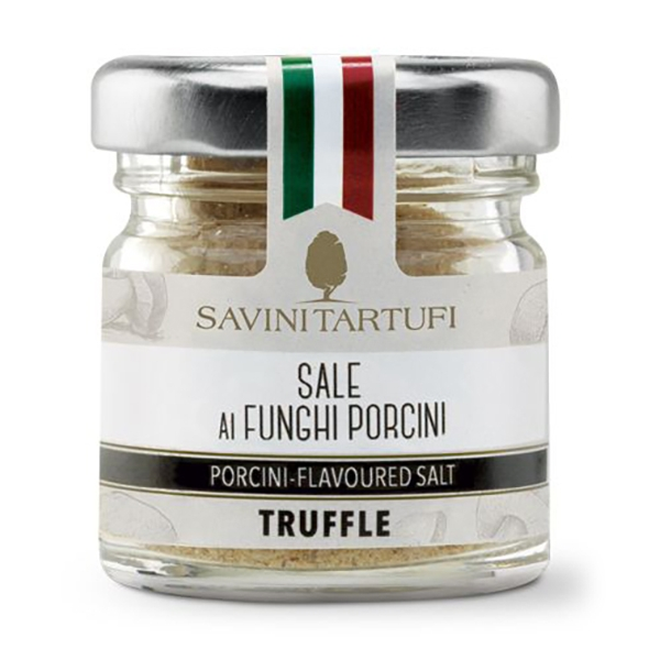 Savini Tartufi - Salt with Porcini Mushrooms - Tricolor Line - Truffle Excellence - 100 g