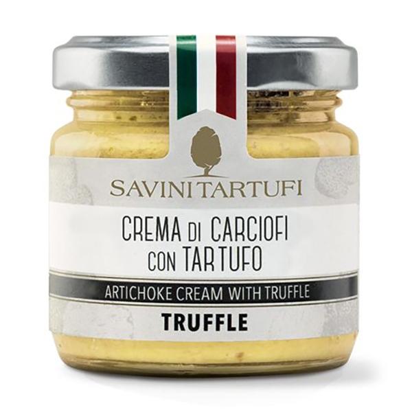 Savini Tartufi - Crema di Carciofi con Tartufo - Linea Tricolore - Eccellenze al Tartufo - 90 g