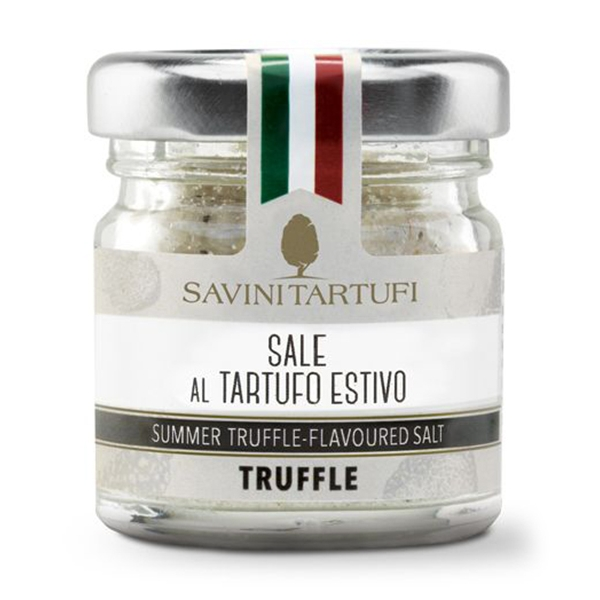 Savini Tartufi - Sea Salt with Summer Truffle - Tricolor Line - Truffle Excellence - 100 g