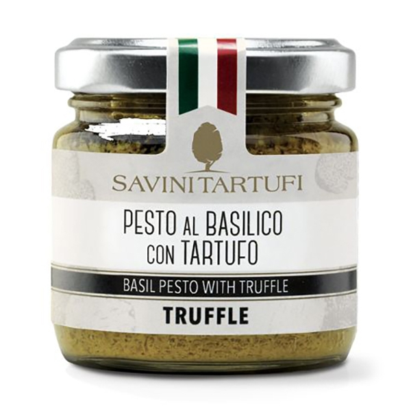 Savini Tartufi - Basil Pesto with Truffle - Tricolor Line - Truffle Excellence - 180 g