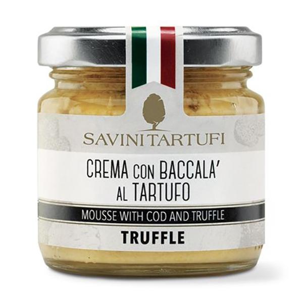 Savini Tartufi - Crema di Patate e Baccalà al Tartufo - Linea Tricolore - Eccellenze al Tartufo - 90 g