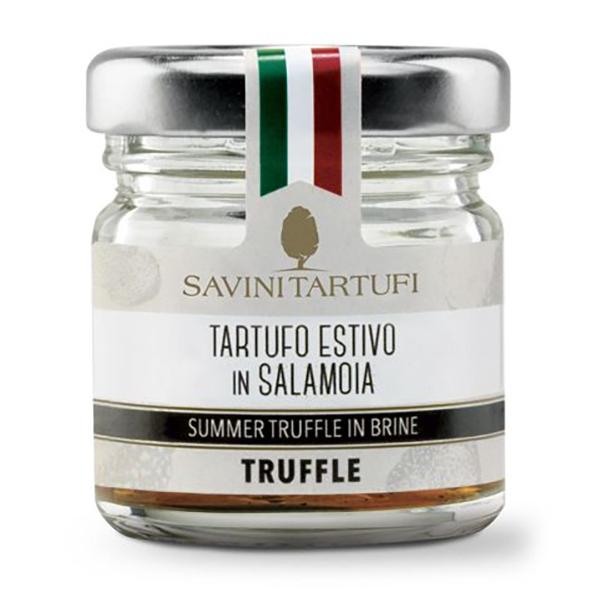 Savini Tartufi - Tartufo Estivo in Salamoia - Linea Tricolore - Eccellenze al Tartufo - 15 g
