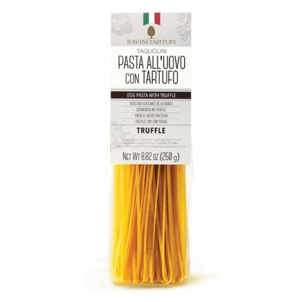 Savini Tartufi - Tagliolini al Tartufo - Pasta all'Uovo con Tartufo - Linea Tricolore - Eccellenze al Tartufo - 250 g