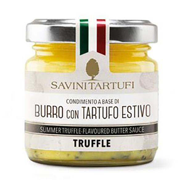Savini Tartufi - Condimento a Base di Burro con Tartufo Estivo - Linea Tricolore - Eccellenze al Tartufo - 80 g