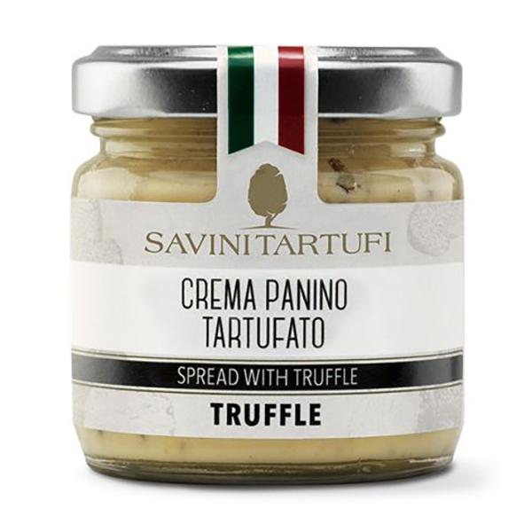 Savini Tartufi - Crema Panino Tartufato - Linea Tricolore - Eccellenze al Tartufo - 90 g