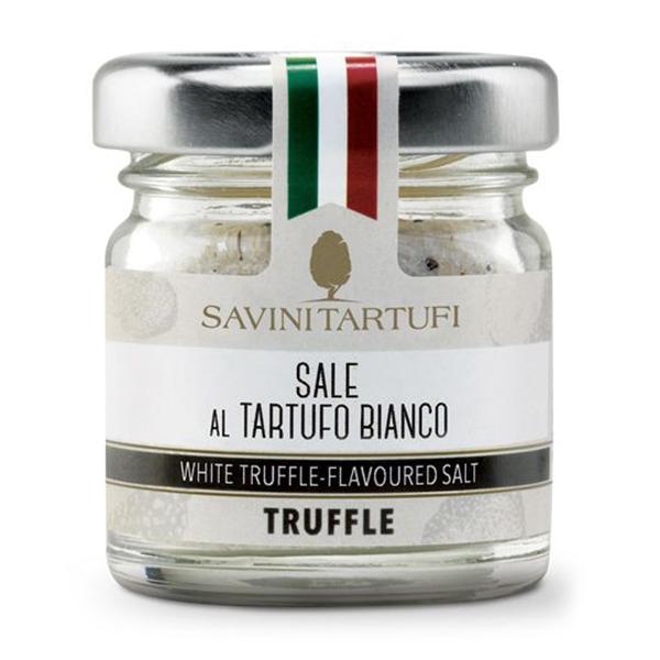 Savini Tartufi - Sea Salt with White Truffle - Tricolor Line - Truffle Excellence - 30 g