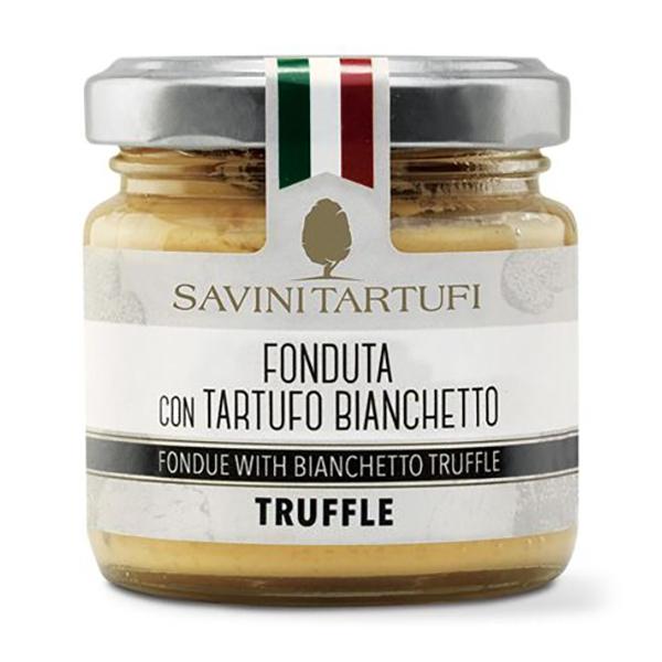 Savini Tartufi - Fonduta al Tartufo Bianchetto - Linea Tricolore - Eccellenze al Tartufo - 90 g
