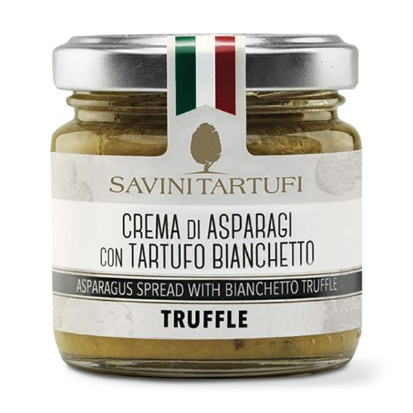 Savini Tartufi - Asparagus Cream with Bianchetto Truffle - Tricolor Line - Truffle Excellence - 90 g