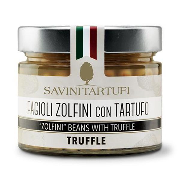 Savini Tartufi - Zolfini Beans with Truffle - Tricolor Line - Truffle Excellence - 290 g