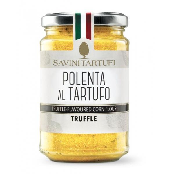Savini Tartufi - Polenta al Tartufo Estivo - Linea Tricolore - Eccellenze al Tartufo - 240 g