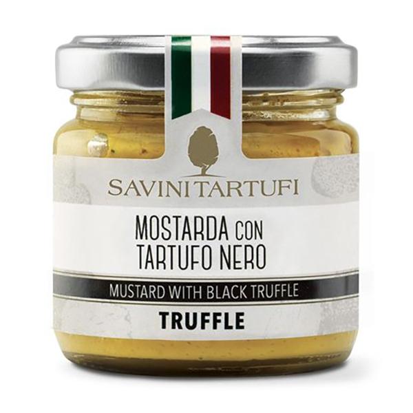 Savini Tartufi - Mostarda al Tartufo Nero - Linea Tricolore - Eccellenze al Tartufo - 90 g