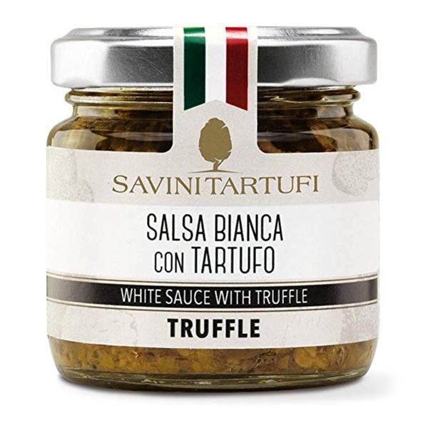 Savini Tartufi - White Truffle Sauce - Tricolor Line - Truffle Excellence - 180 g