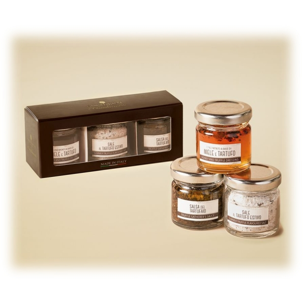 Savini Tartufi - Sweet and Savory Condiments - Exclusive Gift Boxes - Truffle Excellence