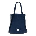 Leda Di Marti - Blue Shopper - Love a Dream - Haute Couture Made in Italy - Luxury High Quality Bag