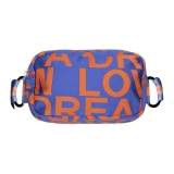 Leda Di Marti - Waist Bag - Purple Orange - Love a Dream - Haute Couture Made in Italy - Luxury High Quality Bag