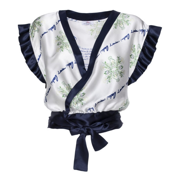 Leda Di Marti - Rumantic Top - Love a Dream - Haute Couture Made in Italy - Luxury High Quality Top