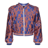 Leda Di Marti - Jacquard Bomber - Love a Dream - Haute Couture Made in Italy - Luxury High Quality Jacket