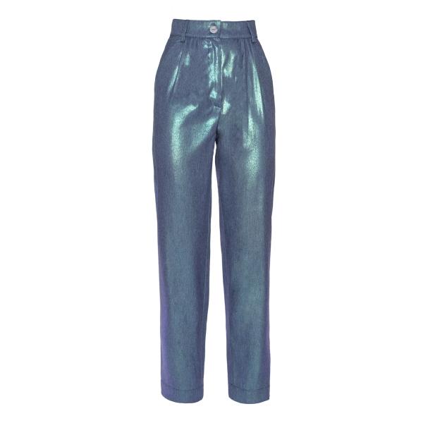 Leda Di Marti - Pantaloni Jungle - Love a Dream - Haute Couture Made in Italy - Pantaloni di Alta Qualità Luxury