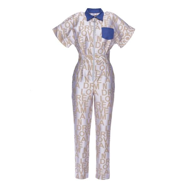 Leda Di Marti - Tuta Rida - Love a Dream - Haute Couture Made in Italy - Abito di Alta Qualità Luxury