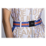 Leda Di Marti - Leda Triple Stripes Belt - Love a Dream - Haute Couture Made in Italy - Luxury High Quality Belt